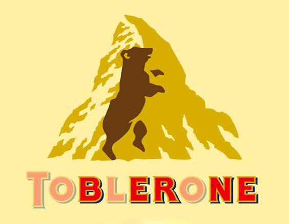 Logo Tobleronne avec Ours aparants©