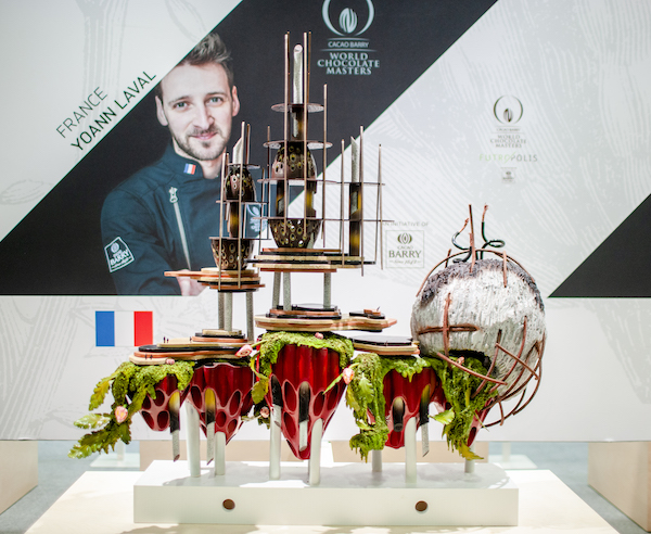 Yoann Laval-2ème place World Chocolat Masters 2018©