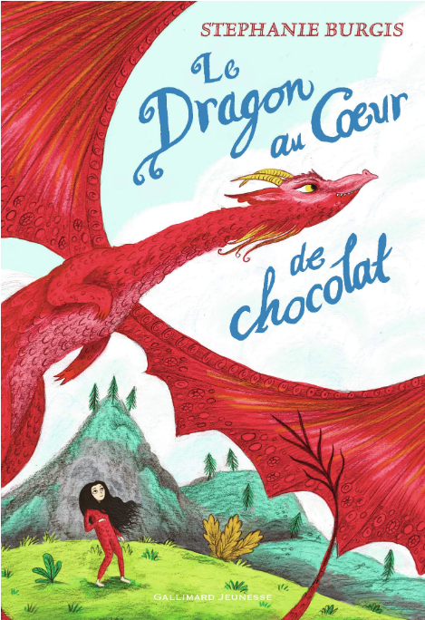 Coucerture du livre: Le Dragon au Coeur de Chocolat©