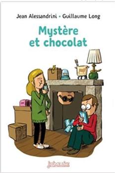 Couverture de Mystère et chocolat par Jean Alessandrini  et Guillaume Long©