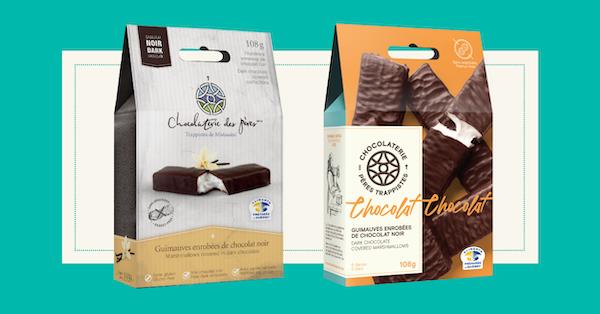 Nouvel emballage Chocolaterie des pères trappistes©