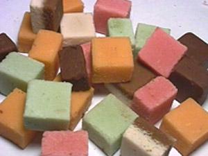 Recettes de la Pâte d'amandes aux pamplemousses