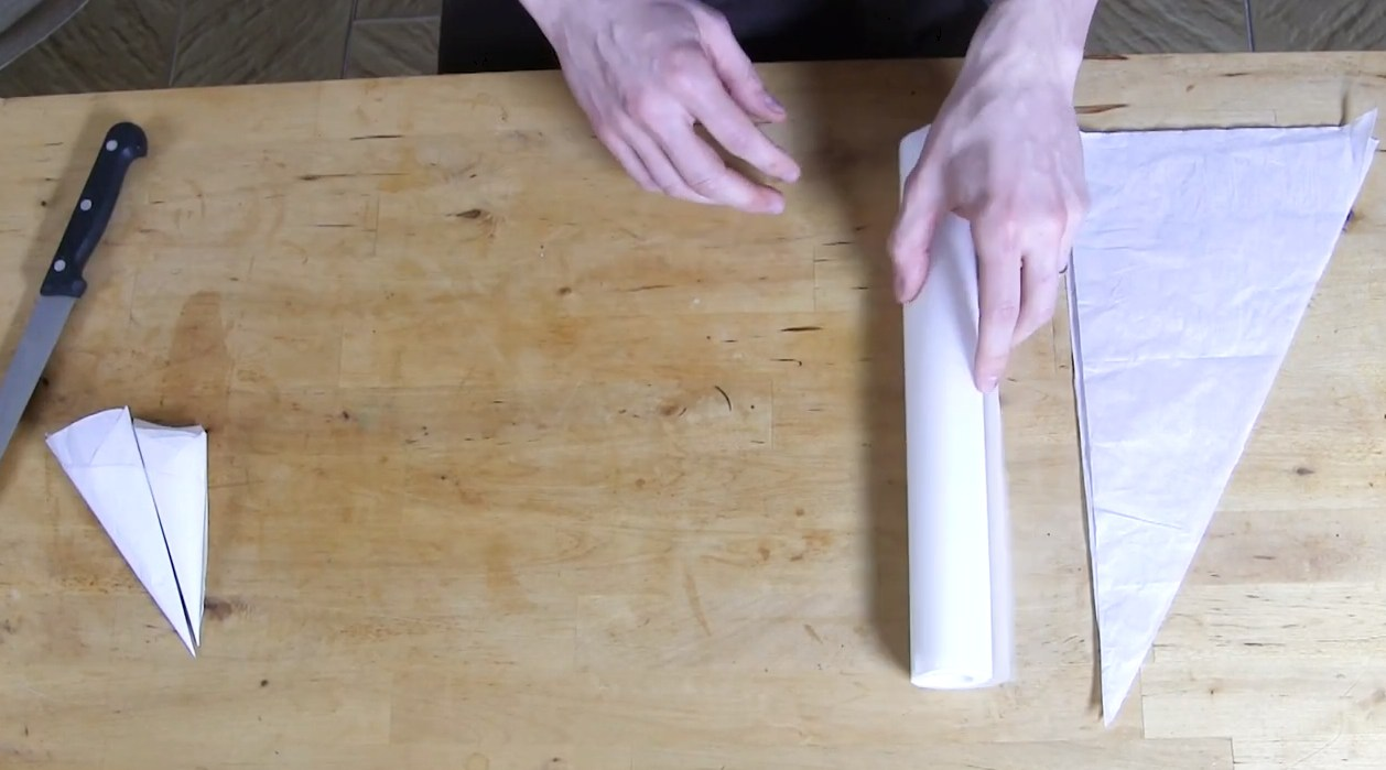 Les Techniques de la Réalisation d'un cornet©ChocoClic.com