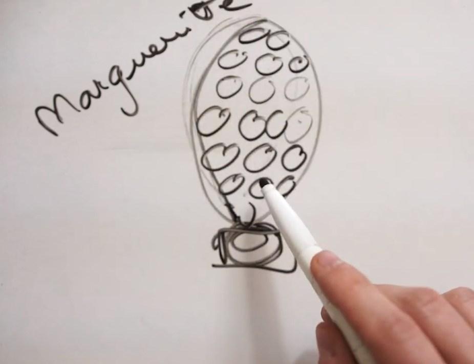 Comment faire un montage fleur marguerite©ChocoClic.com