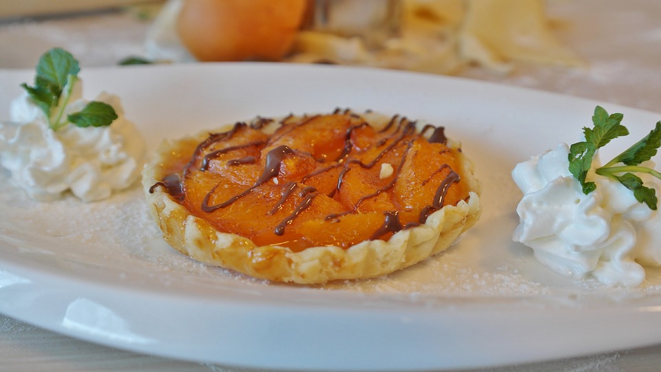 Tarte abricot chocolat©
