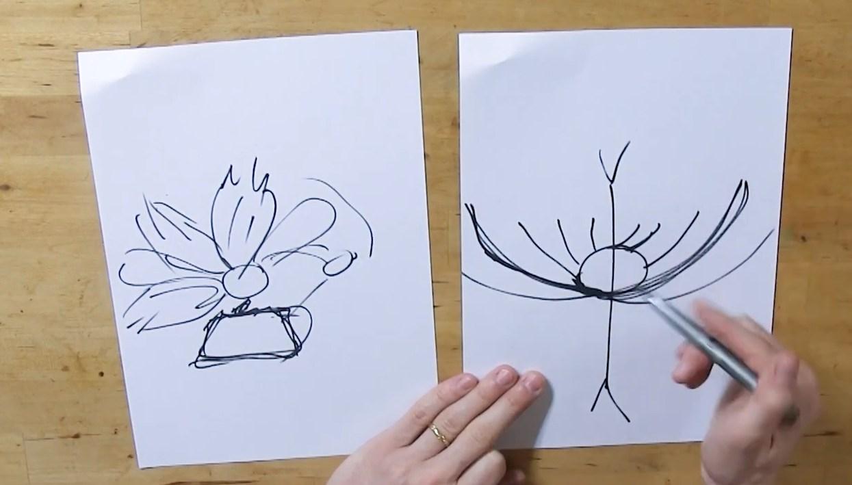Réalisation d'un bouquet de Mariage en chocolat©ChocoClic.com