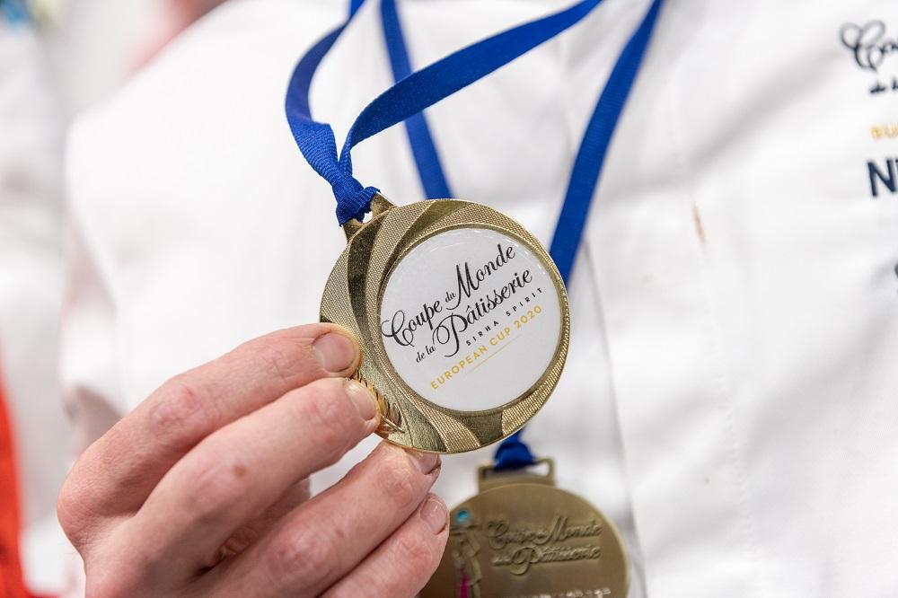 Médaille Coupe du monde de la pâtisserie©