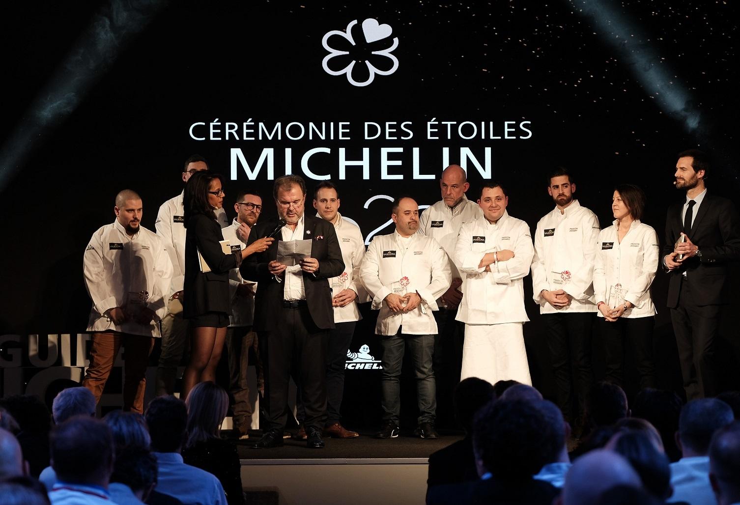 Cérémonie des étoiles Michelin