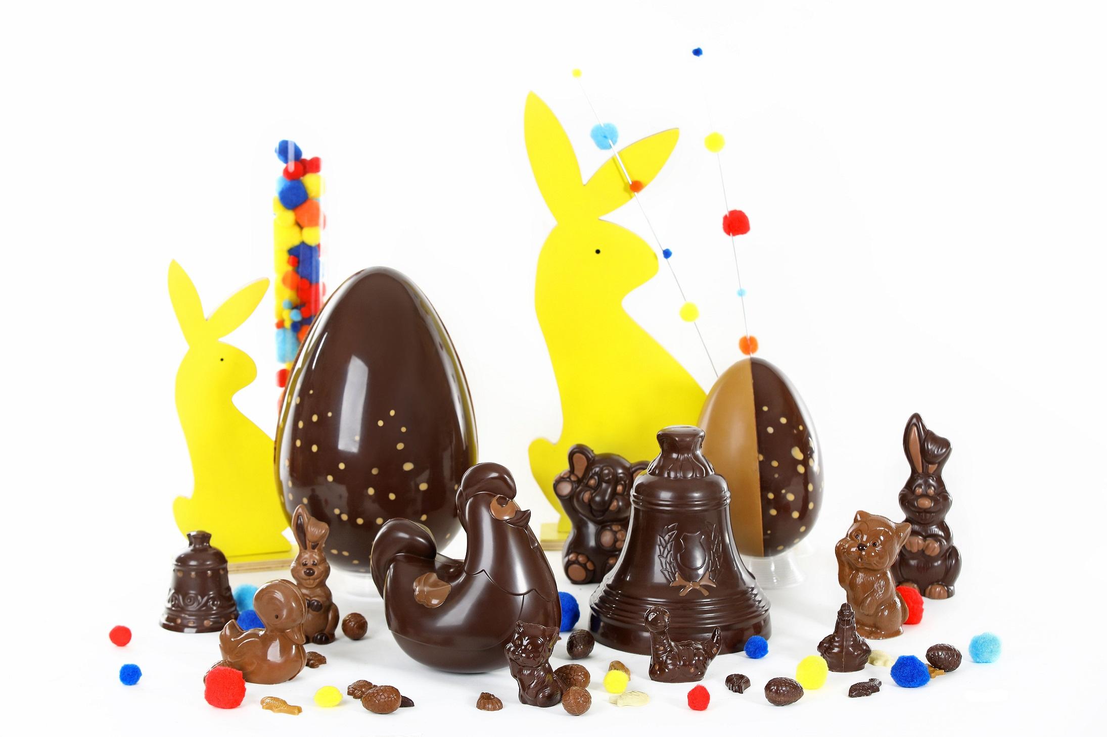 pâques chocolat chocolaterie de Puyricard