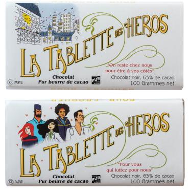 la tablette des héros