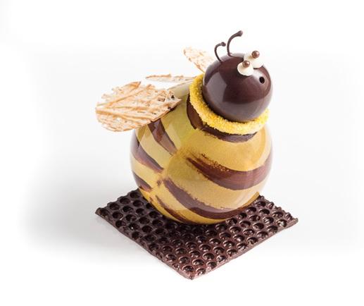 abeille en chocolat
