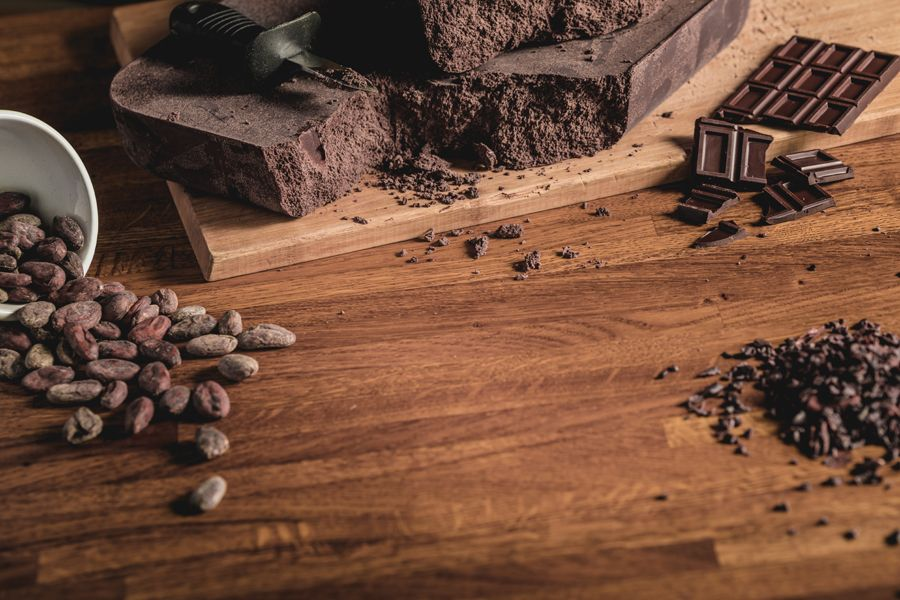 composition de cacao et chocolat