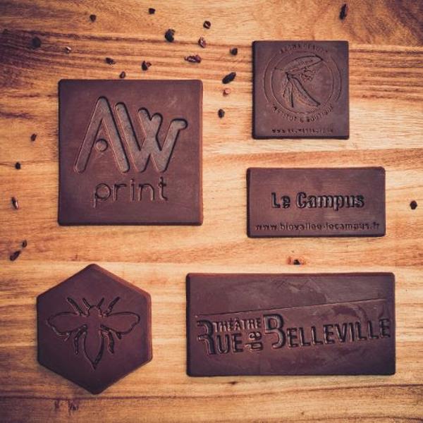 chocolat bio associé à une large palette de saveurs