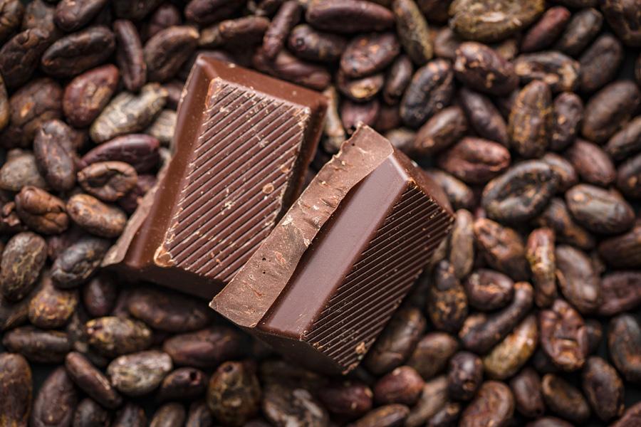 chocolat noir fève de cacao