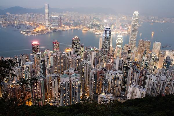 Vue aérienne de Hong Kong©