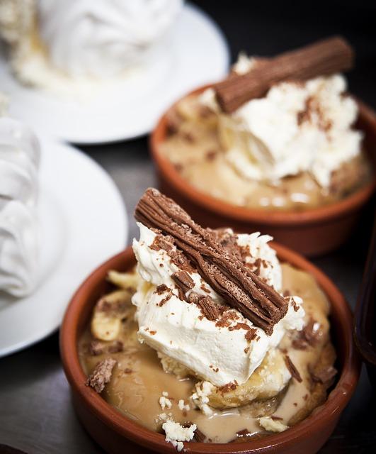 Crème dessert vanille et chocolat©