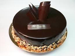 Gâteau avec glaçage au chocolat©