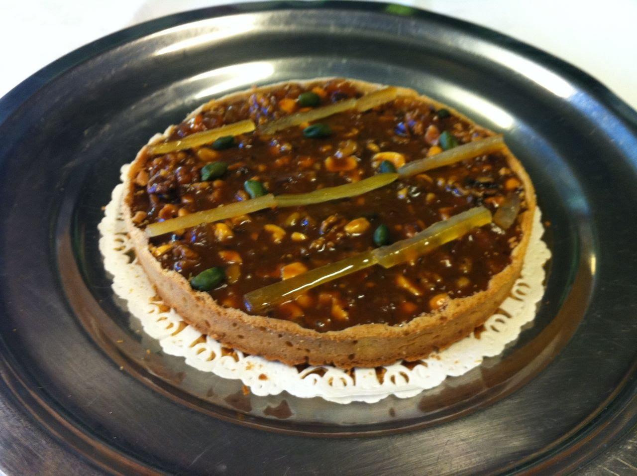 Tartelette aux fruits secs caramélisés©