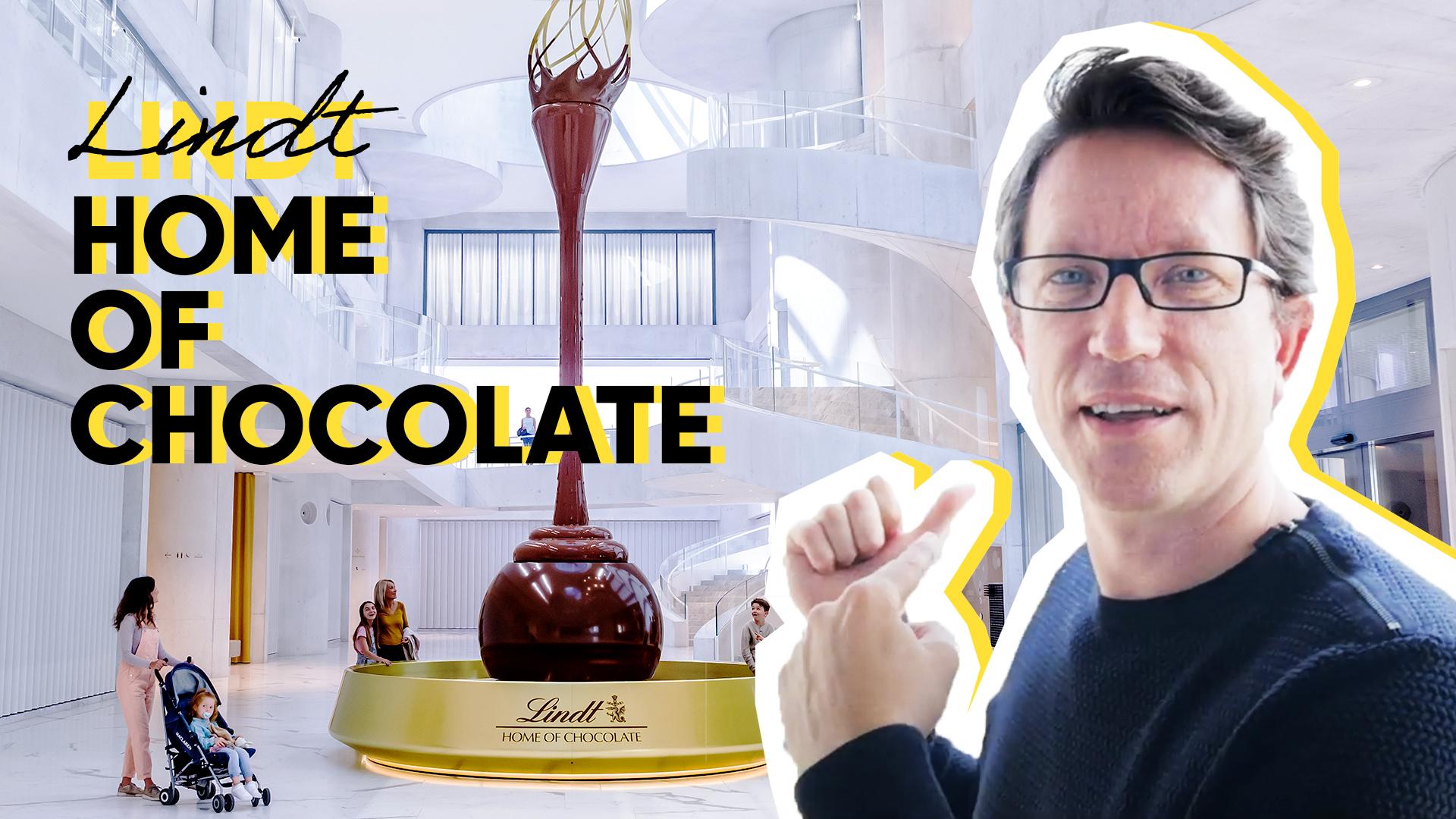 Mon avis 😱 sur le Musée du chocolat LINDT de Zurich Suisse
