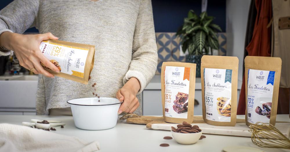 La nouvelle gamme de chocolat Pâtissier Weiss