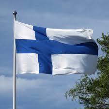 Drapeau de la Finlande@