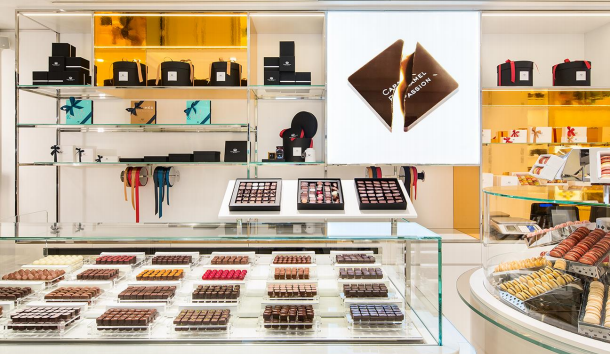 Boutique Pierre Marcolini à Paris