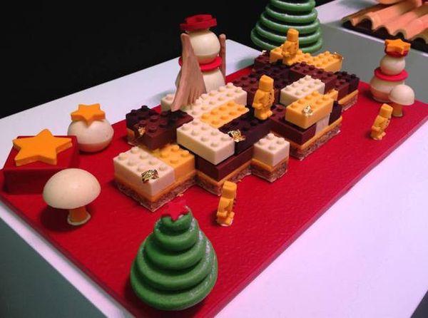 Les bûches de Noël 2014 venues d'ailleurs