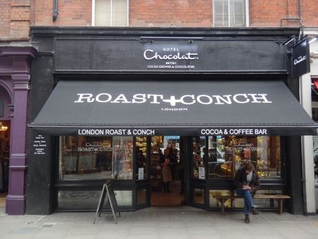 Roast&Conch - Hotel Chocolat : exploration du cacao caribéen à Londres