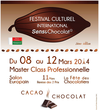 3e Festival Culturel International Sens & Chocolat