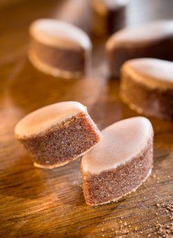 Calissons chocolat-noisette