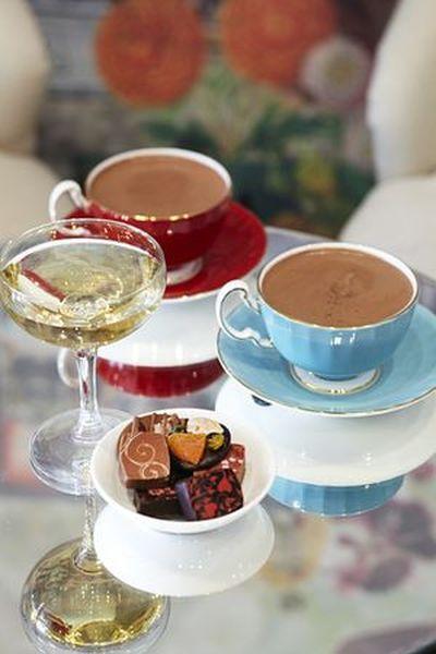 Alexeeva & Jones Champagne and Hot Chocolate