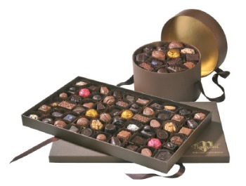 Chocolaterie de Puyricard - coffrets Carbone