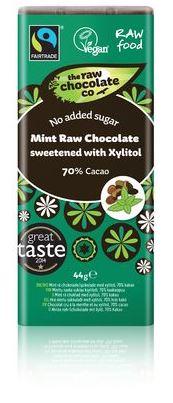 The Raw chocolate Co - Mint Dark