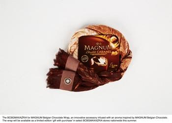 Magnum Belgian Chocolate Wrap - crédit photo MAGNUM