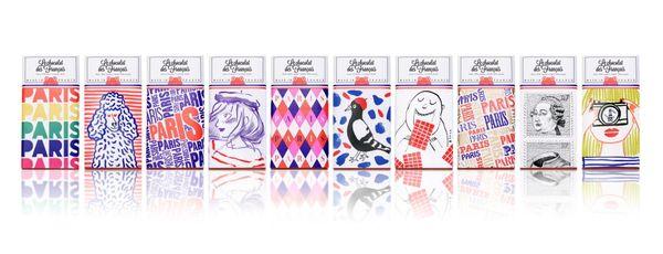 Le chocolat des Français-collection de tablettes