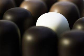 Bonbons à la guimauve recouverts de chocolat©