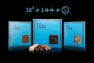 12 au carré par David L'Instant Chocolat©