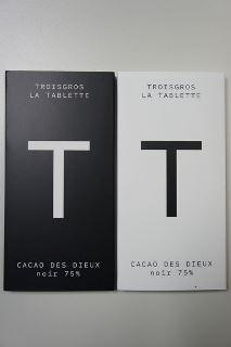 Les tablettes de chocolat des Troisgros©