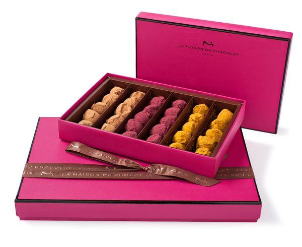Les truffes parfumées de la Maison du Chocolat© photo Laurent Rouvrais