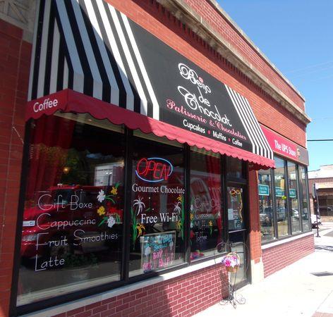 La boutique Beijo de Chocolat à Chicago© photo ChocoClic