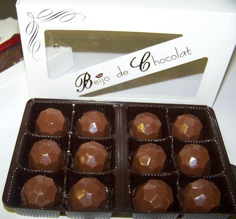 Les brigadeiros de Beijo de Chocolat©