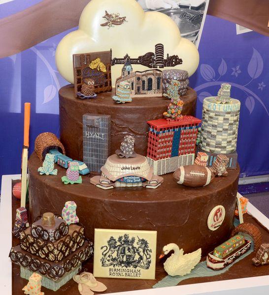 La pièce en chocolat créée par Cadbury World© photo Cadbury World