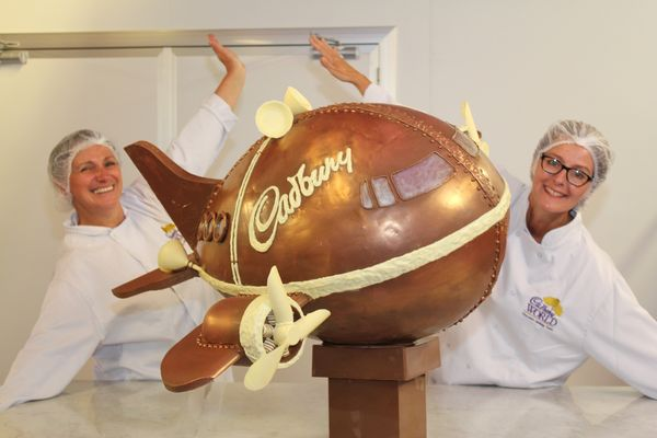L'avion en Chocolat de Cadbury© Cadbury World
