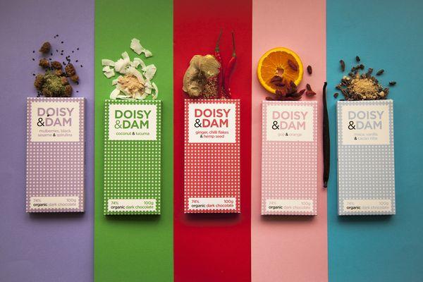 Les tablettes de chocolat Doisy & Dam©