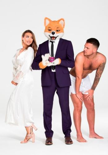 Lauren Goodger, Foxy et Jake McLean©