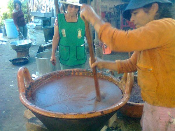 La fabrication du Mole Poblano©