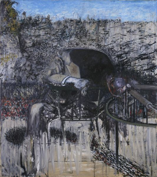 Francis Bacon- A figure in a Landscape©