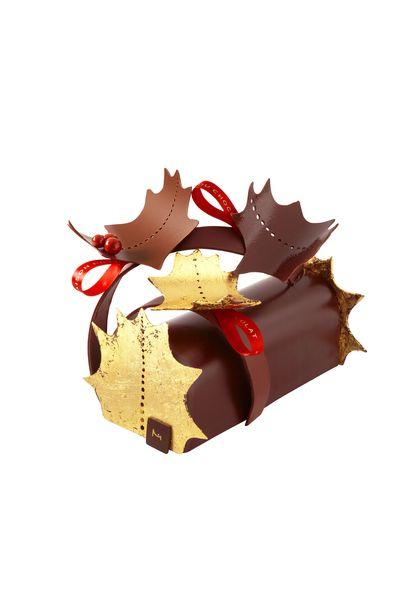 La Bûche de Noël 2015 par la Maison du Chocolat©