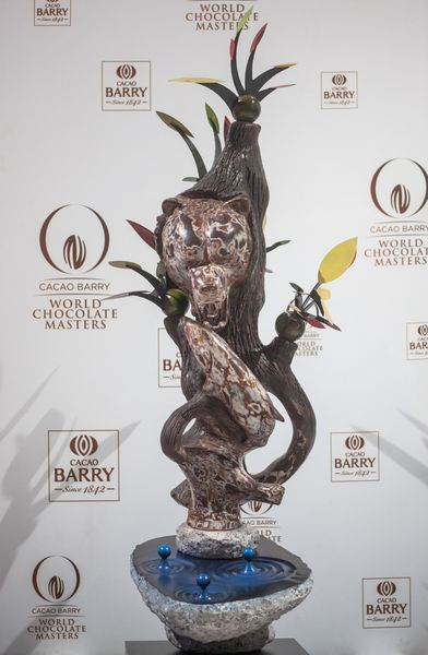 Sculpture en chocolat par Michaël Cotard©