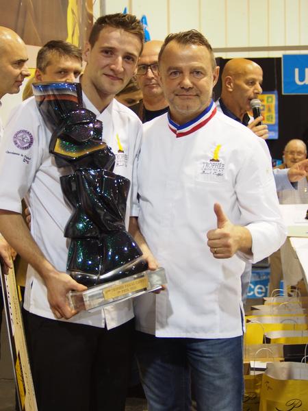 Yoann Laval et Pascal Caffet©